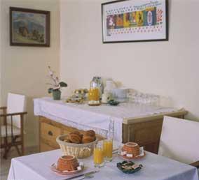 Salle petit déjeuner Cécil Hôtel Paris