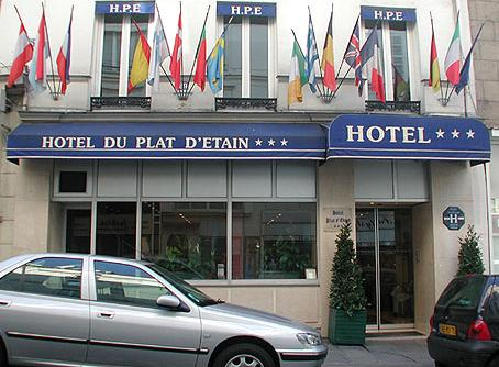 Hôtel du Plat d'Etain Paris