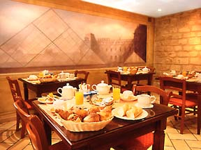 Salle petit déjeuner Hôtel Daguerre Paris