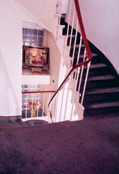 Escalier Hôtel Avia Paris