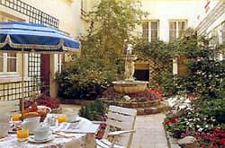 Patio Hôtel Lecourbe Paris