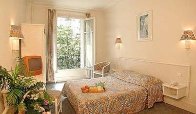 Chambre Hôtel Ajiel Paris