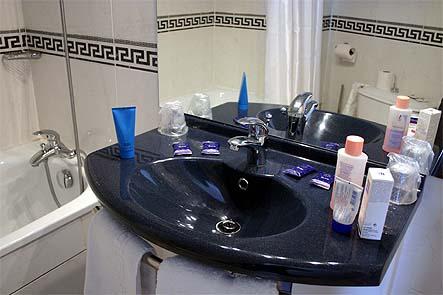 Salle de bain Hôtel Clarisse Paris