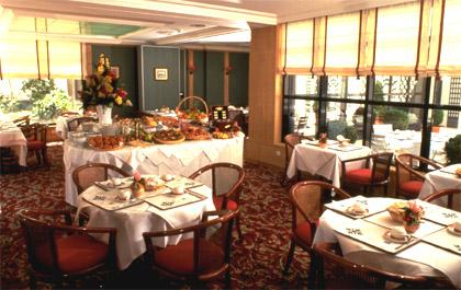 Salle petit déjeuner Hôtel Mercure Paris Tour Eiffel