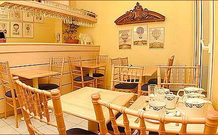 Salle petit déjeuner Aberôtel Montparnasse Paris