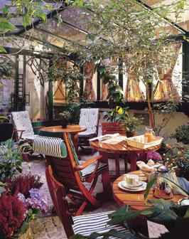 Jardin Hôtel Wallace Paris