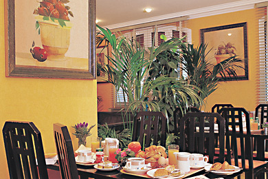 Salle petit déjeuner Beaugrenelle Saint Charles Paris