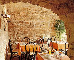 Salle petit déjeuner Hôtel Saintonge Paris