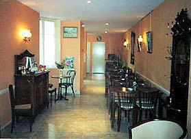 Salle petit déjeuner Hôtel de Lutèce Paris