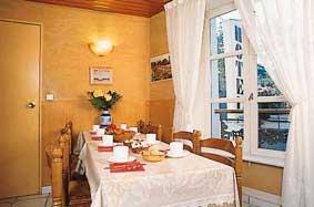 Salle petit déjeuner Hôtel Picard Paris