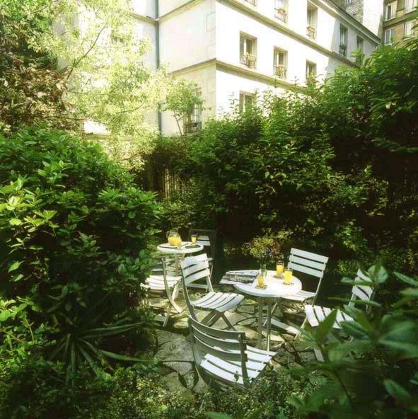 Jardin Abaca Messidor Hôtel Paris
