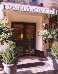 Entrée Hôtel Les Hauts de Passy Paris