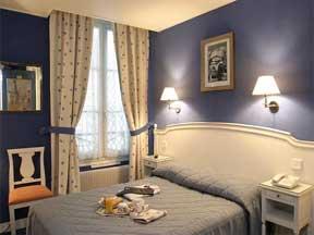 Chambre Hôtel Eiffel Kennedy Paris