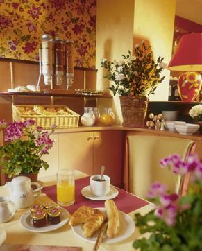 Petit déjeuner Hôtel Résidence Foch Paris
