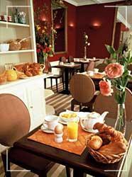 Petit déjeuner Hôtel Passy Eiffel Paris