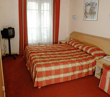 Chambre Comfort Hôtel Montmartre Paris