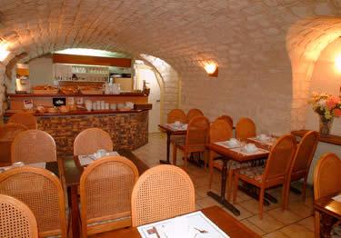 Salle petit déjeuner Comfort Hôtel Montmartre Paris