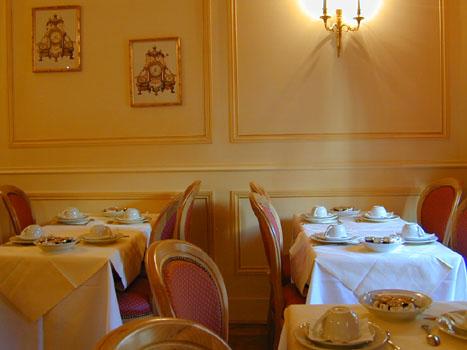 Salle petit déjeuner Best Western Regent's Garden Hôtel Paris