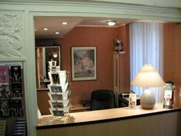 Réception Hôtel Cosy Monceau Paris