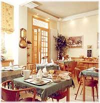Salle petit déjeuner Hôtel des Deux Acacias Paris