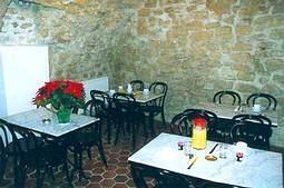 Salle petit déjeuner Hôtel la Pointe Rivoli