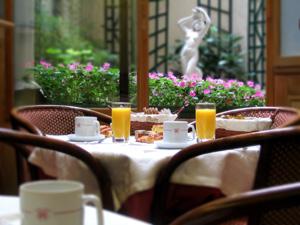 Petit déjeuner Hôtel Harvey Paris