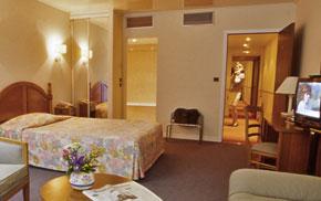 Chambre Hôtel Harvey Paris