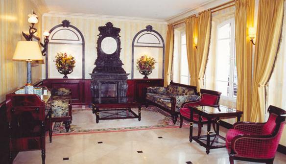 Salon Hôtel Régence Etoile Paris