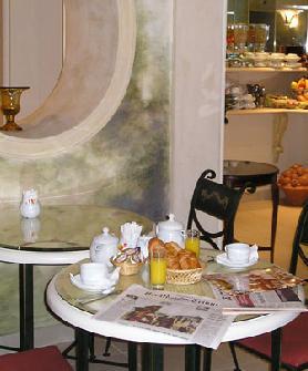 Petit déjeuner Hôtel Régence Etoile Paris