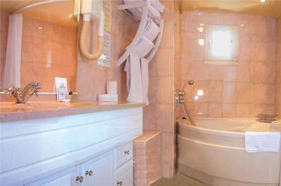 Salle de bain Hôtel Saint Paul Le Marais