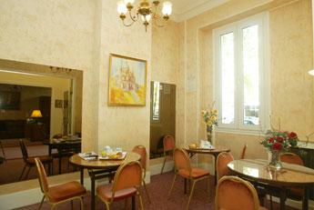 Salle petit déjeuner Hôtel Du Roule Neuilly sur Seine