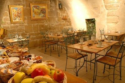 Salle petit déjeuner Hôtel Saint Paul Le Marais