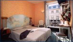 Chambre Hôtel France Louvre Paris