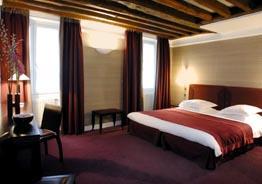 Chambre Hôtel Axial Beaubourg Paris