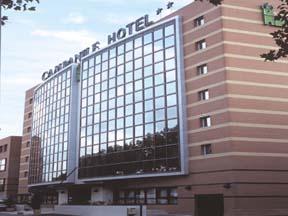 Entrée Hôtel Campanile Issy-les-Moulineaux