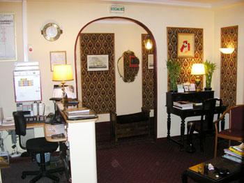Réception hôtel Maillot Neuilly