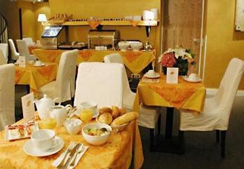 Salle petit déjeuner Best Western Résidence Impériale Paris
