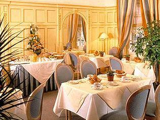 Salle petit déjeuner Hôtel Chambellan Morgane Paris