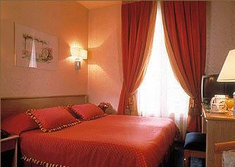 Chambre Hôtel Chambellan Morgane Paris