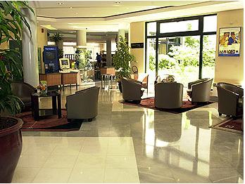 Hall d'entrée Hotel Novotel Paris Pont de Sèvres