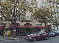 Vue extérieure Hôtel Paris Neuilly