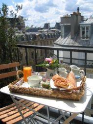 Petit déjeuner Hôtel Caron de Beaumarchais