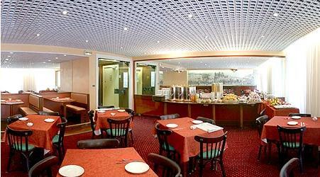 Salle petit déjeuné Hôtel la Résidence Lyon 02