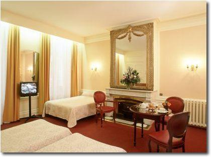 Chambre Hôtel la Résidence Lyon 02
