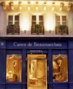 Hôtel Caron de Beaumarchais Paris