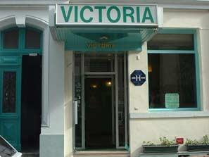 Entrée Hôtel Victoria Lyon 02