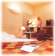 Chambre Hôtel Athena Lyon 03