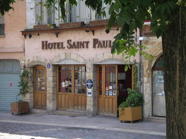 Façade Hôtel St Paul Lyon 05
