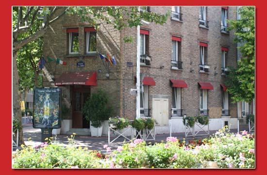 Vue extérieure Hôtel Résidence Montrouge