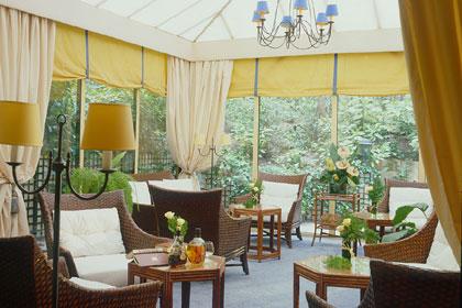 Salon verrière Hôtel Garden Elysée Paris